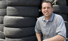 Experienced tire service